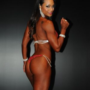 IFBB Pro Nicole - makeup by FitLux Beauty